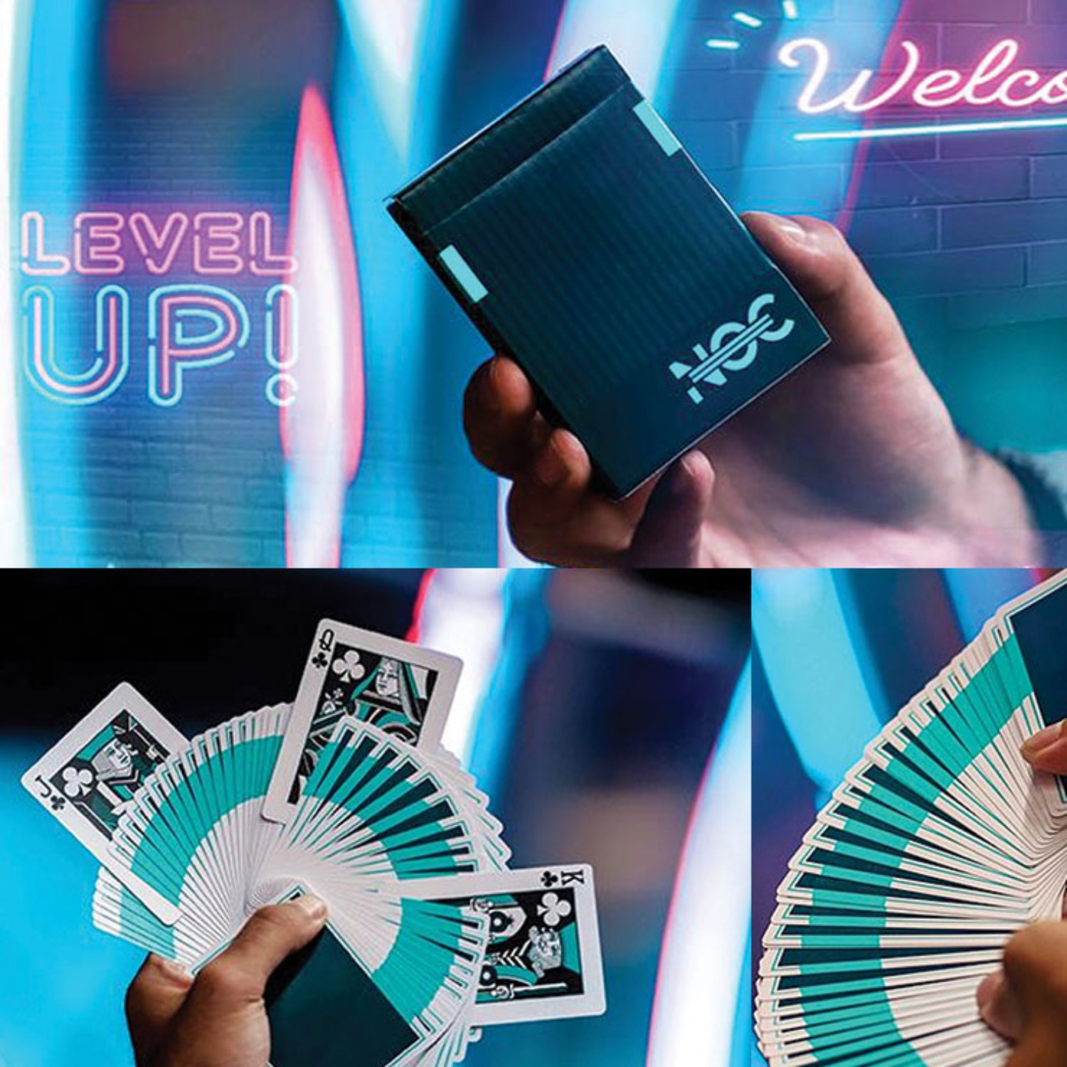 [녹덱 다크]NOC3000X1 (Dark) Playing Cards