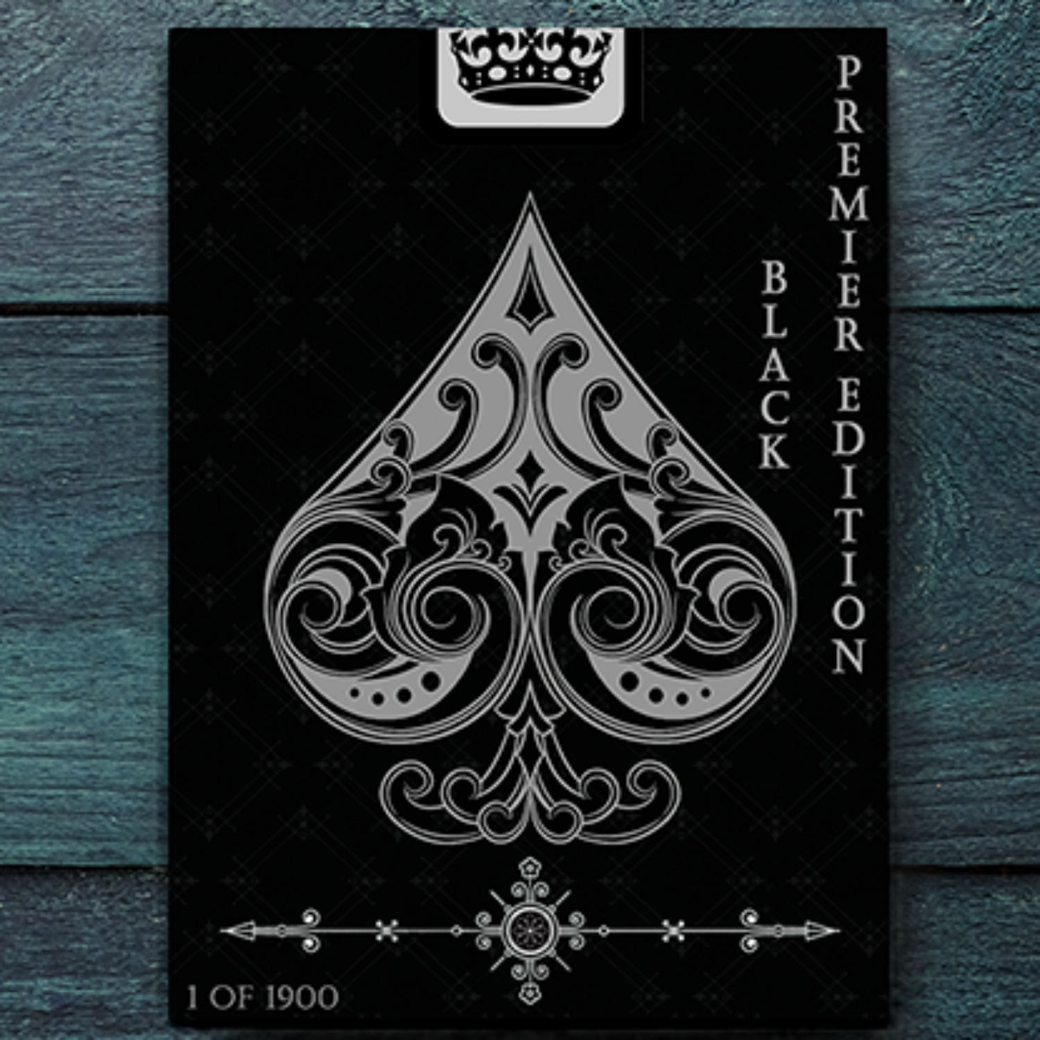 빈티지라벨 프리미어에디션(한정판)Vintage Label Playing Cards (Premier Edition Black)