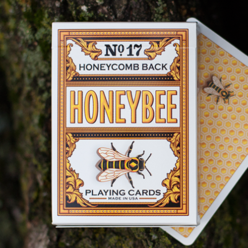 [허니비 옐로우]Honeybee V2 Playing Cards (Yellow)