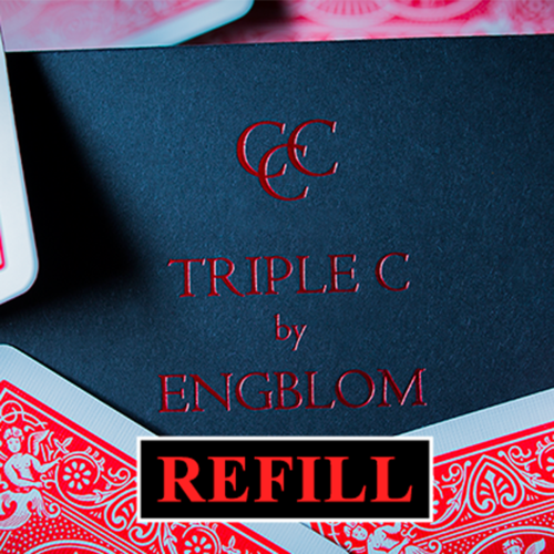 [트리플 C 리필기믹덱] Refill for Triple C (Blue) by Christian Engblom - Trick