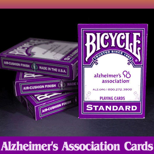 PC074알츠하이머 어소시에이션덱(Bicycle Alzheimer's Association Cards by USPCC)