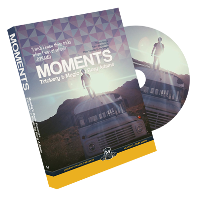 봄세일^^ 50% [모멘트]Moments (DVD and Gimmick) by Rory Adams - DVD