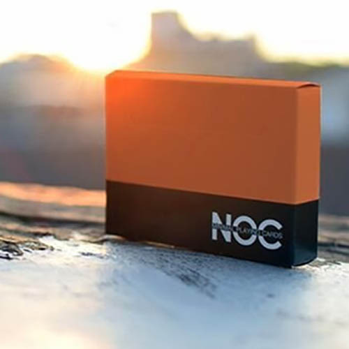 세일 [썸머녹덱-오렌지] Summer NOC Playing Cards (Orange) by The Blue Crown