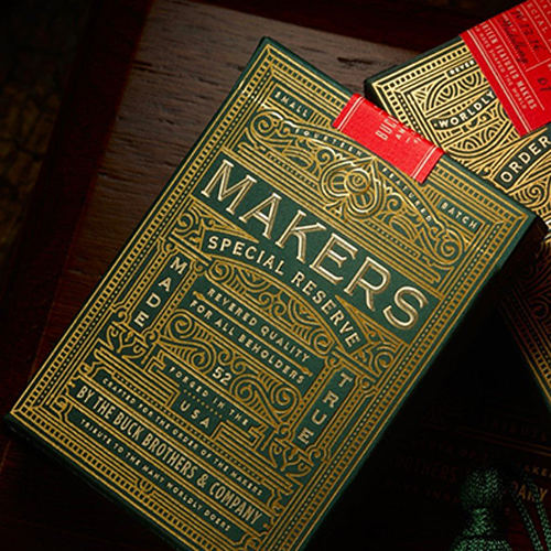 [댄&데이브 마커스덱] MAKERS Playing Cards by Dan and Dave