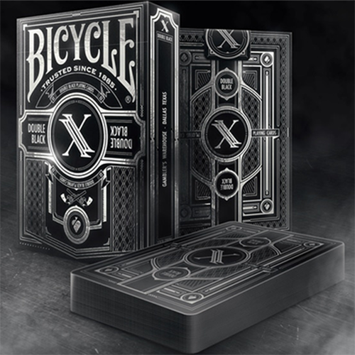 [한정판 2500덱 : 더블블랙2] Limited Edition Bicycle Double Black 2 Playing Cards