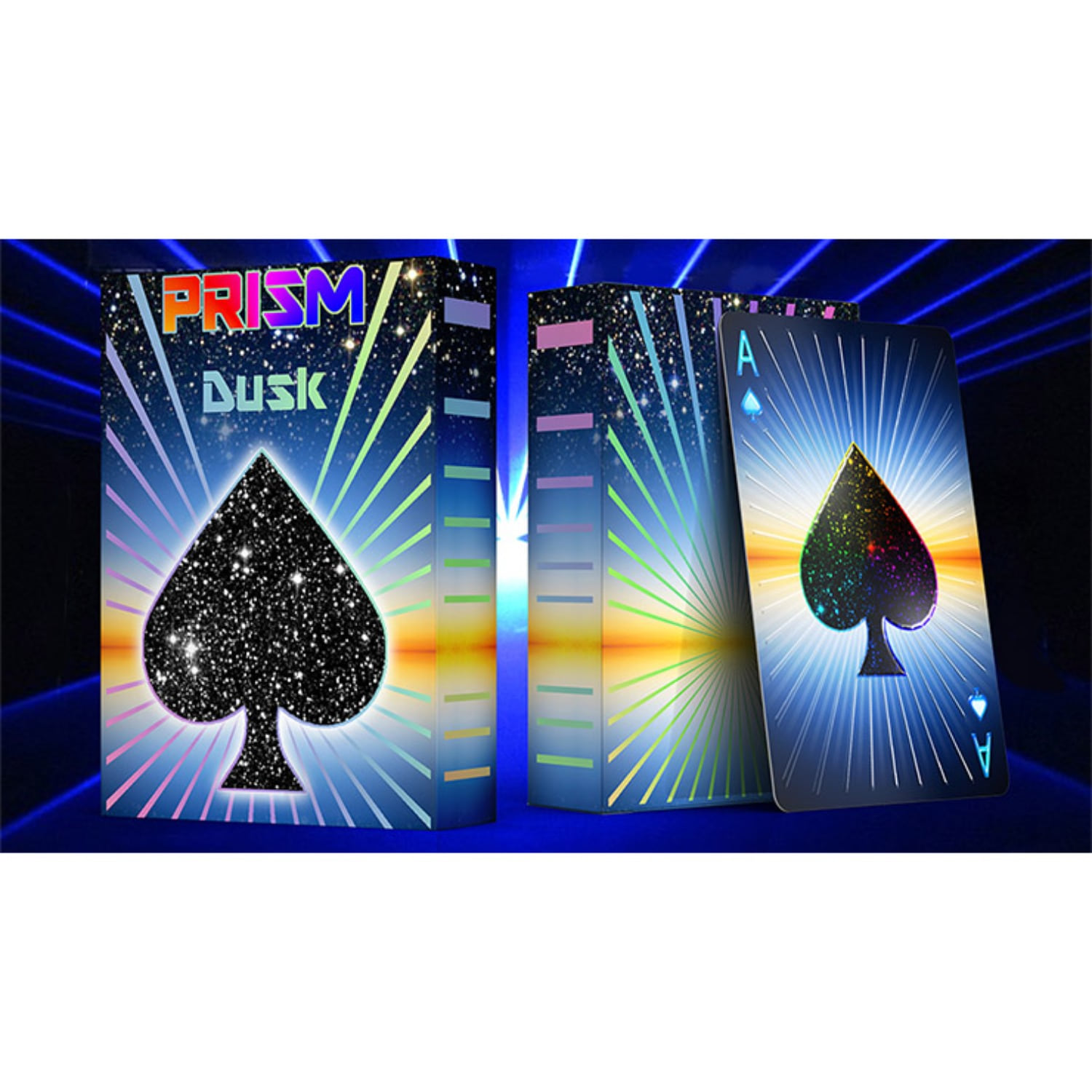 Prism Dusk Playing Cards by Elephant Playing Cards