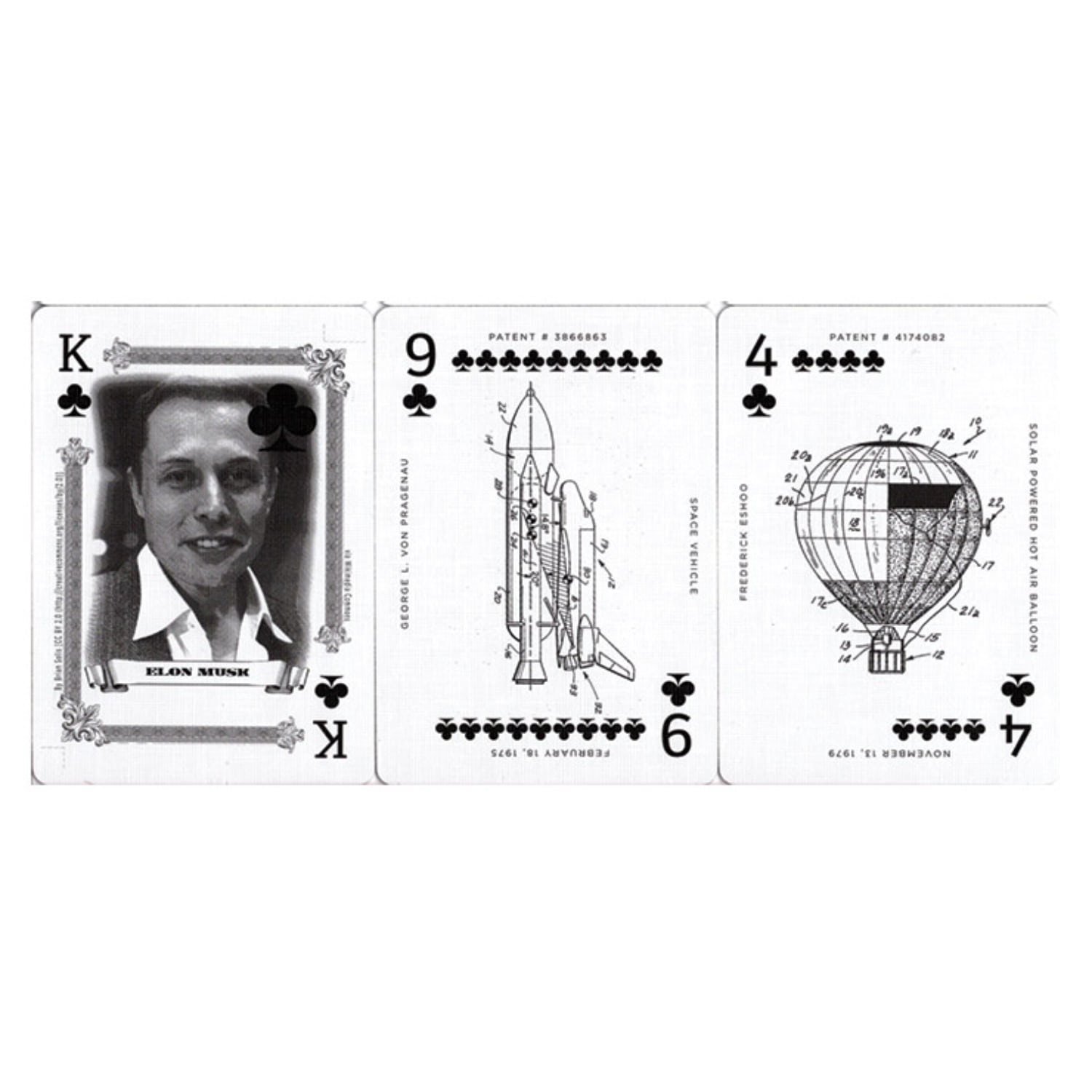 [한정판]Limited Edition Art of the Patent (Vehicle) Playing Cards