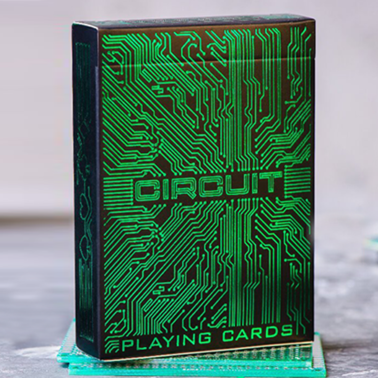 [서킷/그린]Circuit (Green) Playing Cards by Elephant Playing Cards