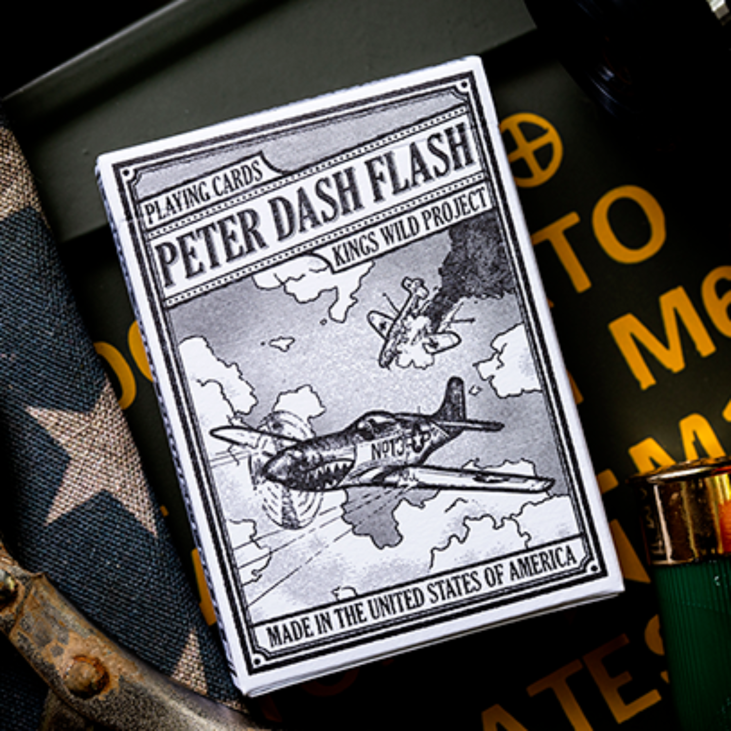 [피터대쉬 플래쉬 P51머스탱]Peter Dash Flash - P51 Mustang Playing Cards by Kings Wild Project Inc.