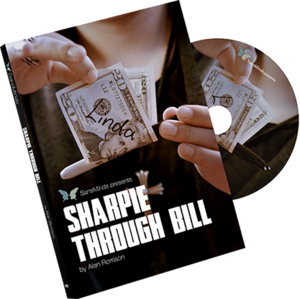 샤피 쓰루 빌(Sharpie Through Bill) by Alan Rorrison and SansMinds - DVD
