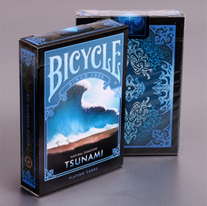 "[쓰나미덱] Bicycle Natural Disasters ""Tsunami"" Playing Cards by Collectable Playing Cards"