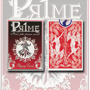 [프라임시리즈001] Pr1me Series001 Deck (Red) by Max Magic & stratomagic