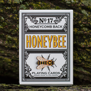 [허니비 블랙]Honeybee V2 Playing Cards (Black)