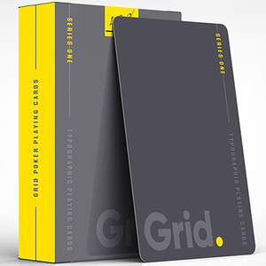 [그리드덱]Grid Typographic Playing Cards