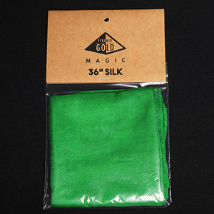 [36인치실크/그린]Silk 36 inch (Green) by Pyramid Gold Magic