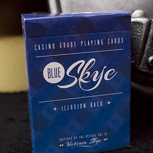 [블루스카이덱]Blue Skye Playing Cards by UK Magic Studios and Victoria Skye