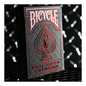 [Red 크림슨럭스 V2] Bicycle Rider Back Crimson Luxe (Red) Version 2 by US Playing Card Co