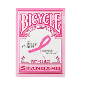 핑크리본덱/MGM(Bicycle Breast Cancer Deck-Pink)