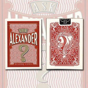 PC024에스크 알렉산더덱(Ask Alexander Playing Cards - Limited Edition by Conjuring Arts)