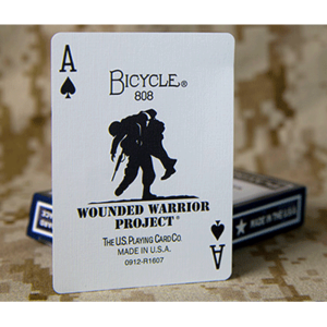 원디드 워리어덱(Bicycle Wounded Warrior Cards by Us Playing Card)