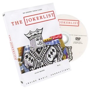 [DV202]더 조커리스트(The Jokerlist by Alex Mann and M.G)