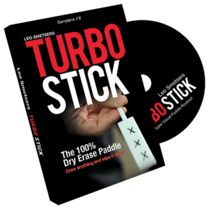 Turbo Stick (Props and DVD) by Richard Sanders - DVD(게릴라세일)