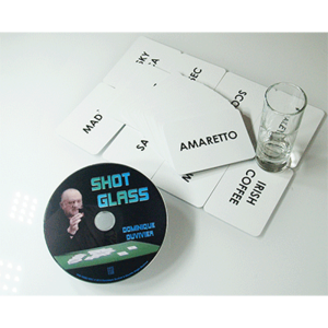 Shot Glass (DVD and Gimmick) by Dominique Duvivier - DVD