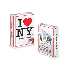 아이러브뉴욕덱(Custom Playing Cards, Poker I Love NY/USPC)