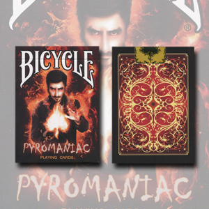 Bicycle Pyromaniac Deck by Collectable Playing Cards - Trick