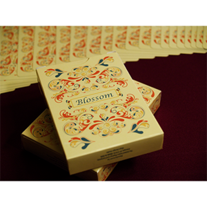 [블라썸덱]  Blossom deck (Fall) Platinum Metallic Ink by Aloy Studios USPS - Trick