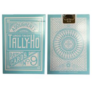 탈리호리버스 써클백(민트블루)Tally Ho Reverse Circle back (Mint Blue) Limited Ed. by Aloy Studios / USPCC