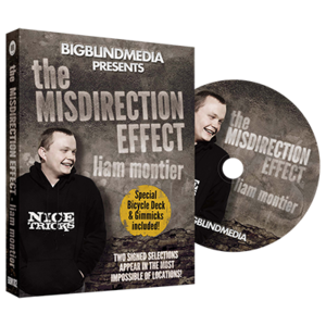 [미스디릭션 효과]The Misdirection Effect (DVD and Gimmick) by Liam Montier and Big Blind Media - DVD