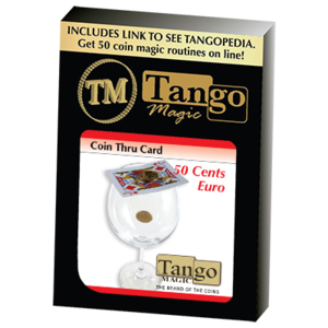 코인쓰루카드[Coin Thru Card (50 cent Euro) (E0014) Tango ]
