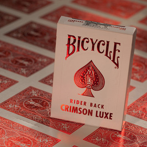 크림슨럭스덱[Crimson  Luxe Playing Cards / USPC]