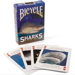 [샤크덱/MGM] Bicycle® Sharks Playing Cards