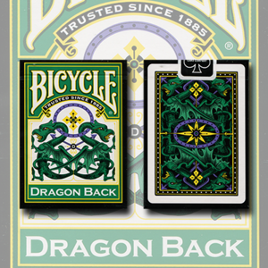 [드래곤백 그린] Bicycle Dragon Green by Gamblers Warehouse - Trick