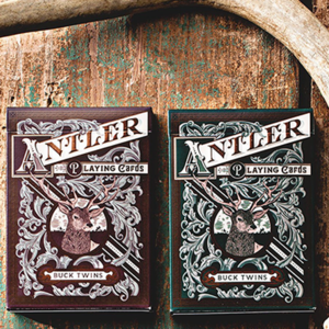 [댄&데이브 앤틀러덱]Antler Playing Cards by Dan and Dave