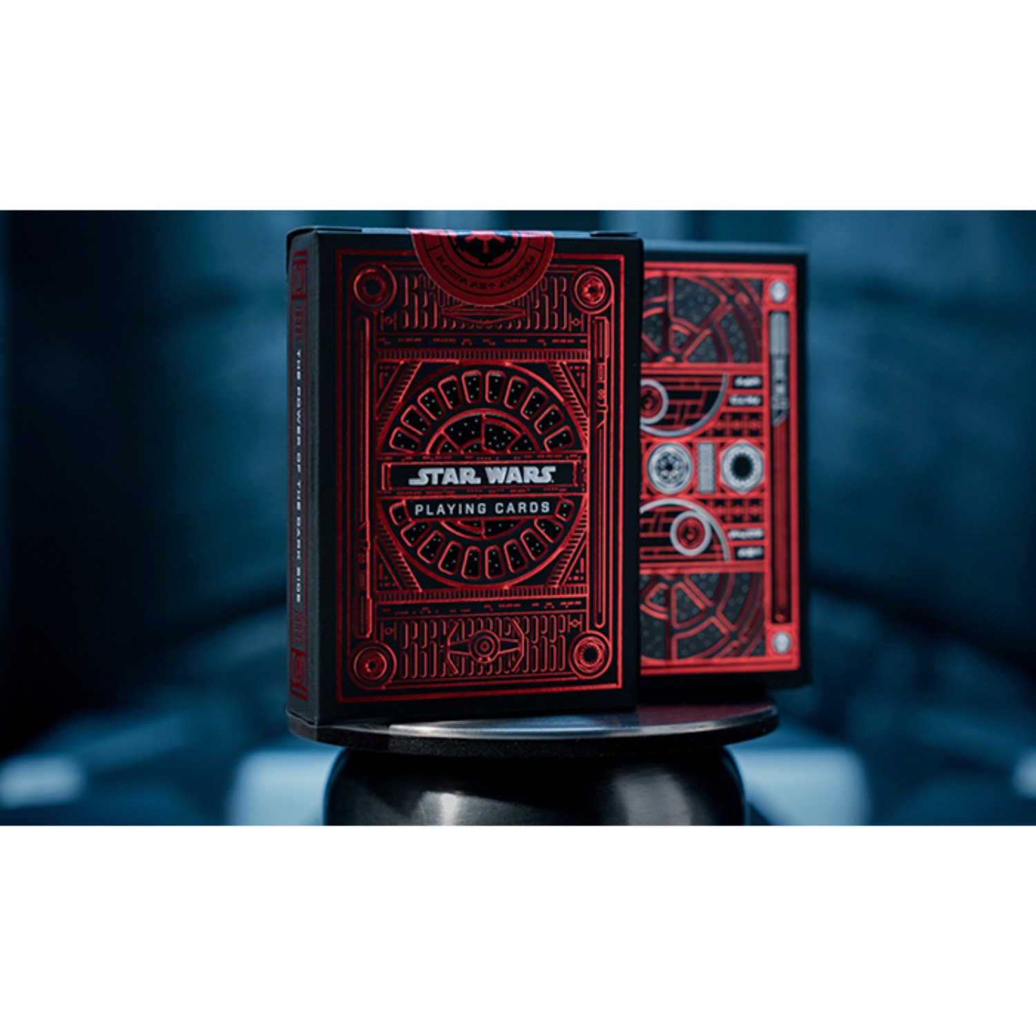 [스타워즈/레드]Star Wars Dark Side (RED) Playing Cards by theory11
