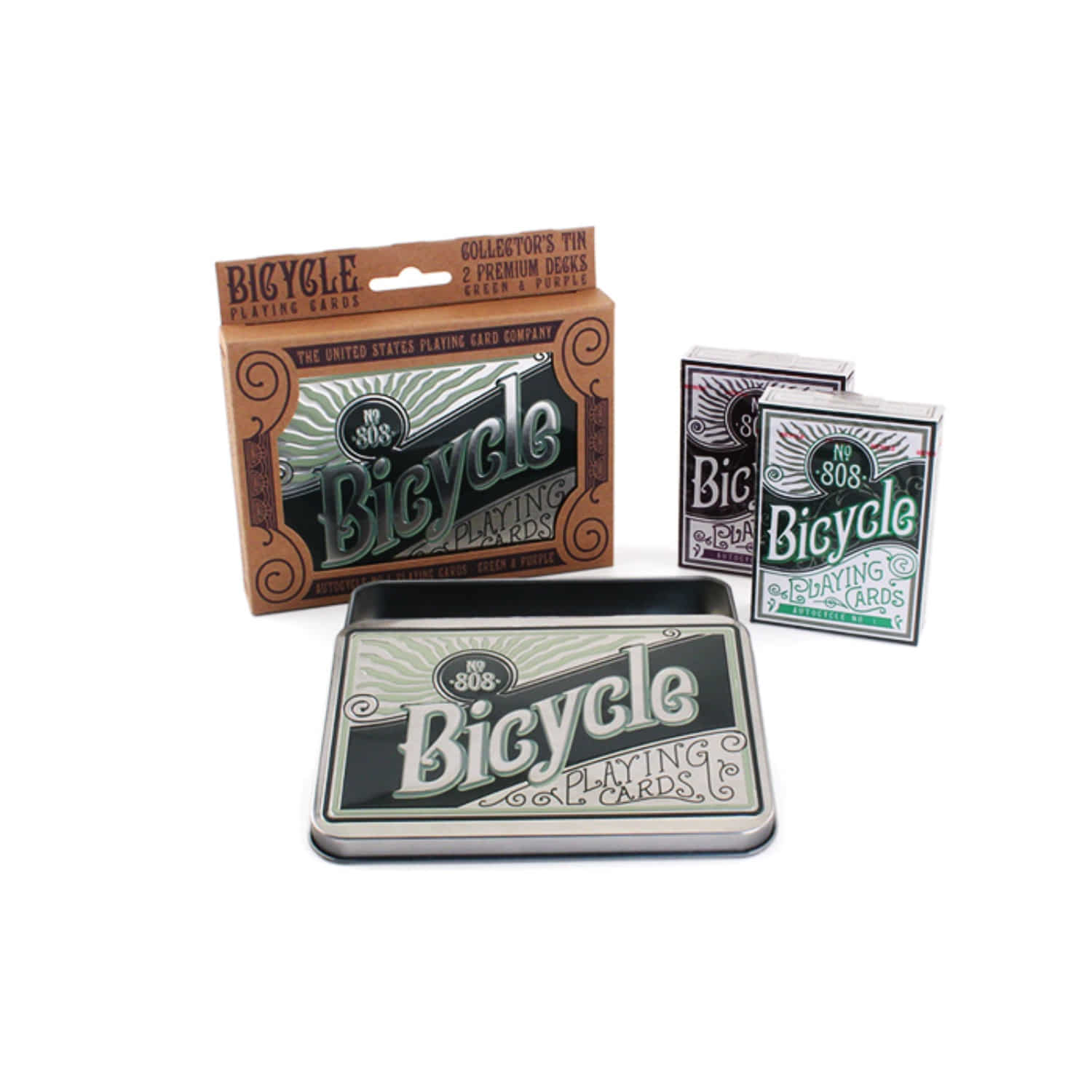 [바이시클 레트로 틴]Bicycle Retro Tin Playing Cards