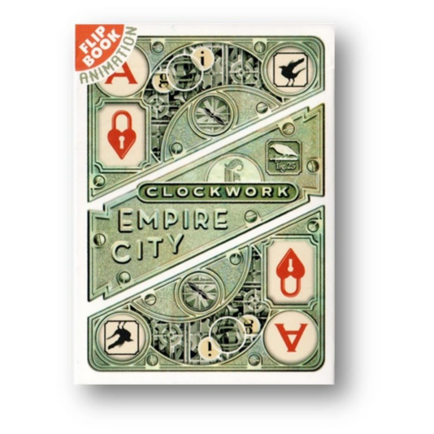 클록웍 엠파이어덱(한정판)Clockwork Empire Playing Cards by fig.23