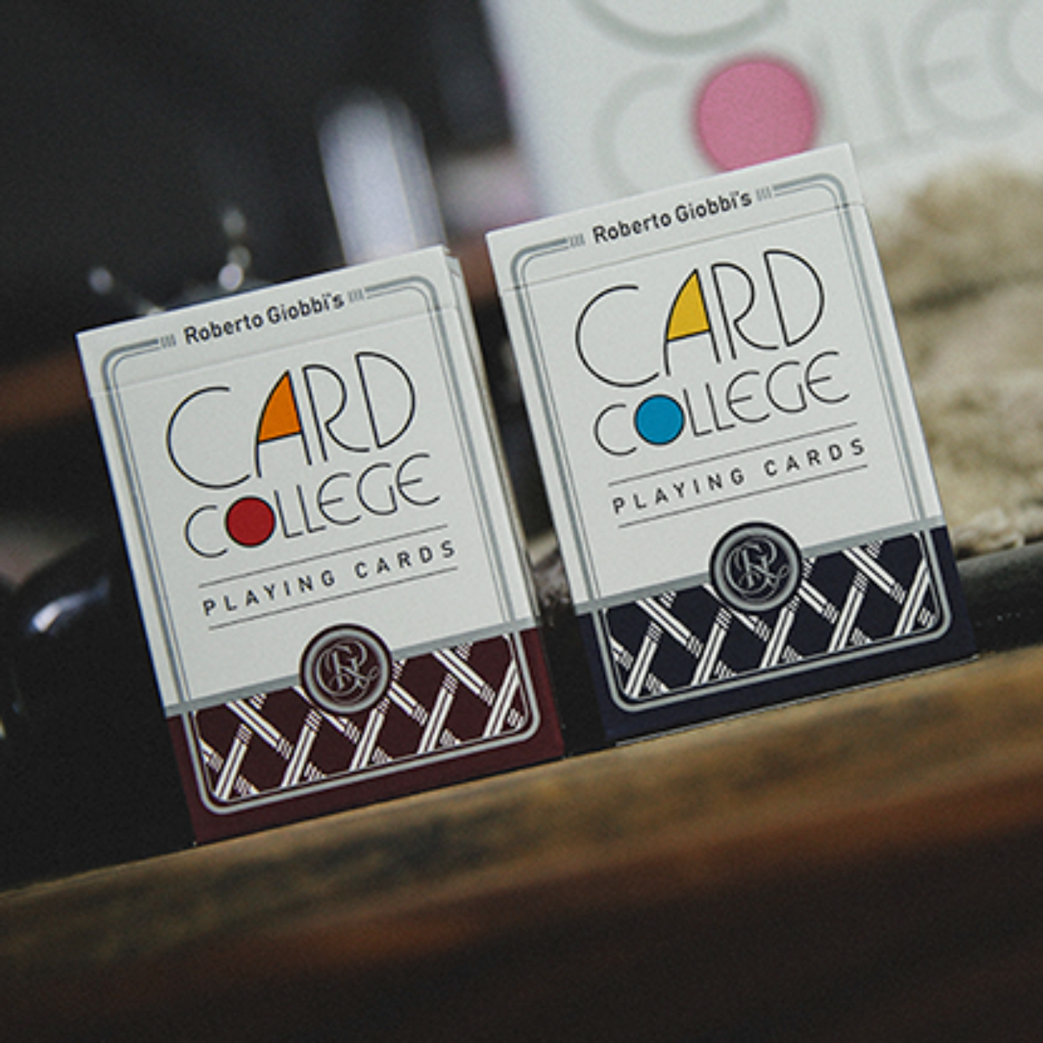 [카드컬리지/레드]Card College (Red) Playing Cards by Robert Giobbi and TCC Presents
