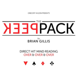 [픽팩] Gregory Wilson Presents The Peek Pack by Brian Gillis (Gimmicks and Online Instructions) -  무려 6명의 관객의 마음을 읽을 수 있습니다.