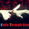 [ST164]Knife Through Arm(팔뚝자르기)