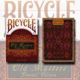 Bicycle Old Masters Playing Cards (Numbered Limited Edition Tuck and back card) by Collectable Playing Cards/한정판