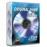 Manipulation Mini CDs (Original Shape, NON Colored) by Live Magic