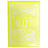 탈리호리버스 써클백(옐로우)Tally Ho Reverse Circle back (Yellow) Limited Ed. by Aloy Studios / USPCC
