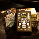 앰버스택덱/MGM [Bicycle® Amber Stag Playing Cards]
