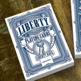[리버티덱/블루] Liberty Playing Cards (Blue) by Jackson Robinson and Gamblers Warehouse