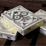 [스피릿화이트덱] Spirit White Playing Cards by Gamblers Warehouse
