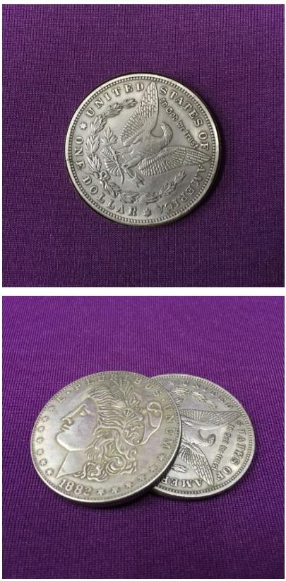 (플리퍼코인-모건달러) Super Flipper Coin ( Morgan Dollar -Copper ) - 유매직, 33,000원, 동전마술, 동전마술